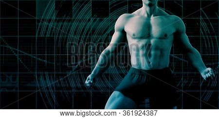 Physical Training and Conditioning for the Ideal Body 3D Render