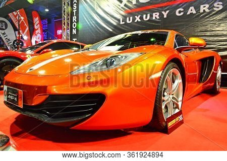 Pasay, Ph - Apr 23: Mclaren Mp4 At Trans Sport Show On April 23, 2017 In Pasay, Philippines.