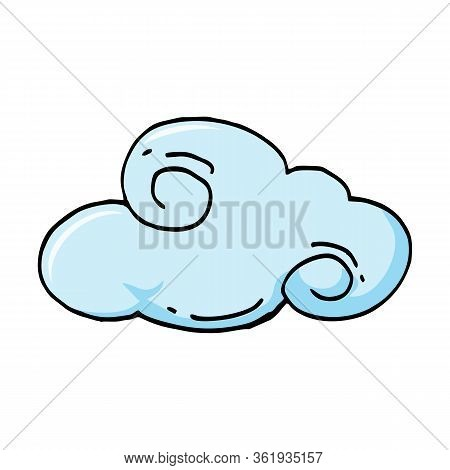 Cloud Set. Cloud Icon. Cloud Icon Art. Cloud Icon Picture. Cloud Icon Image, Illustration Vector Des