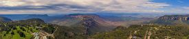 The Blue Mountains In New South Wales Australia