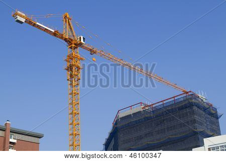 Crane Building Construction