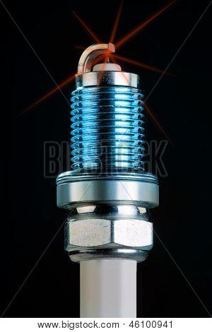 Spark plug.