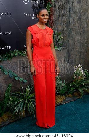 NEW YORK - MAY 29: Actress Tika Sumpter attends the premiere of