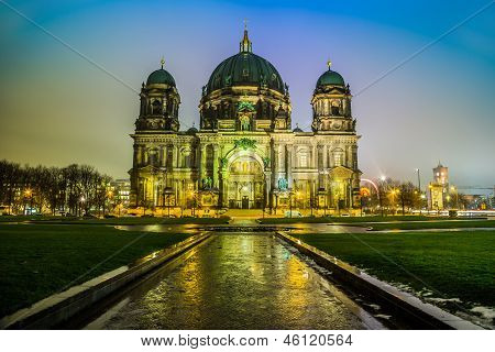Berliner Dom, Is The Colloquial Name For The Supreme Parish