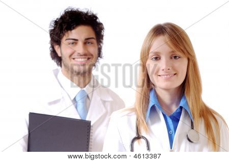 Doctor And Stethoscope