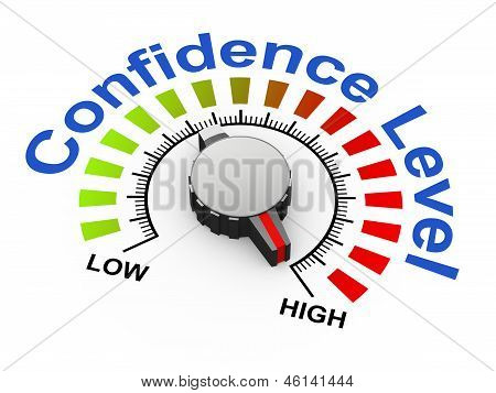 3D Knob - Confidence Level