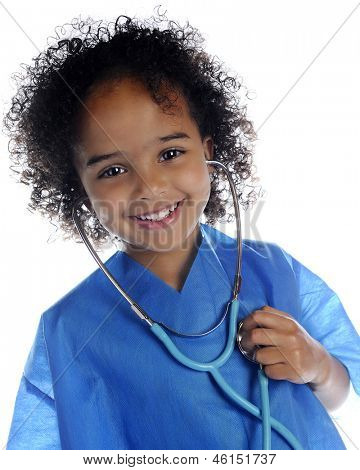 Portrait of an adorable preschool