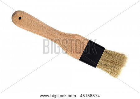 Pastry brush, isolated on white background.