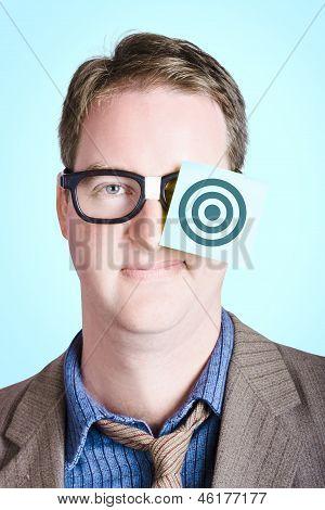 Bullseye Target. Aims And Goals