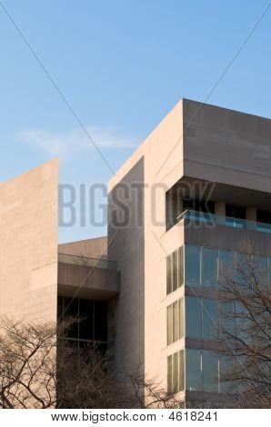 Facade Of Modern Building