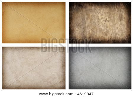Collection Of Various Grunge Texture Backgrounds