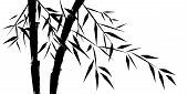 design of chinese bamboo trees vector illustration please visit my portfolio for similar images poster