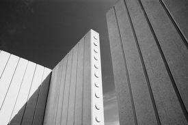 Abstrakt-Gebäude