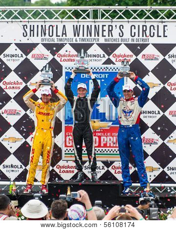 Winners Circle, Chevrolet Indy Dual I, Detroit, MI