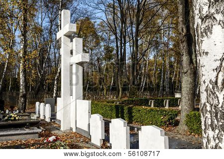 The Symbolic Grave Sibir Exile In Warsaw