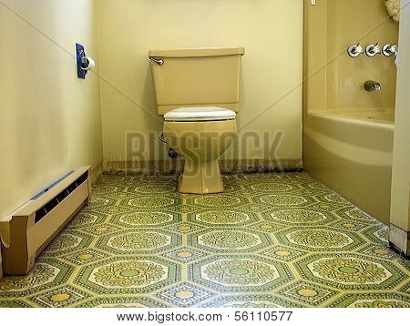 Gaudy Bathroom