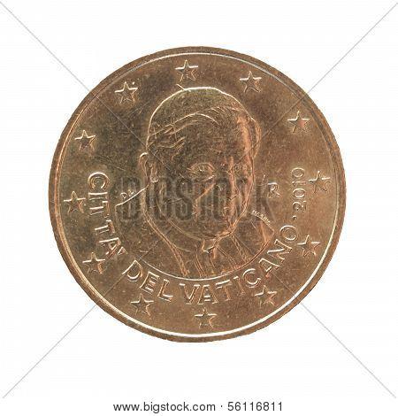 Twenty Euro Cent Coin