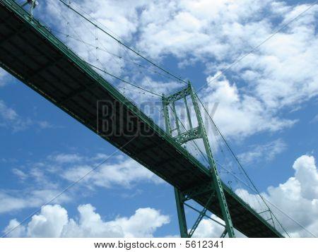 Bridge from under