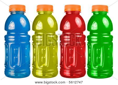 Sports Drink Set Isolated