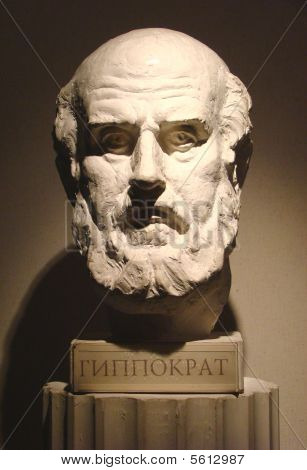 Hippocrates is an ancient greek doctor, father of medicine