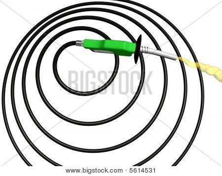 Spiral Gas Pump Hose