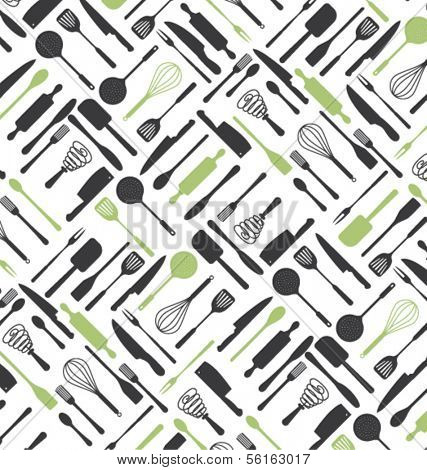Kitchen Restaurant Pattern