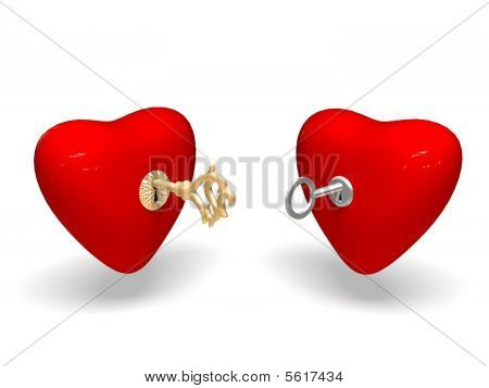 Two hearts.