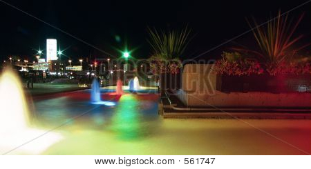Night Fountains 2