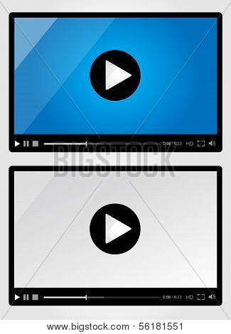 Video player for web - Set