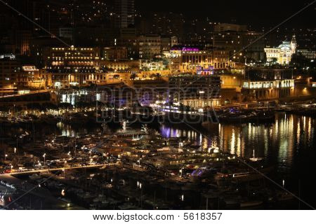 Beautiful Port Of Monte Carlo
