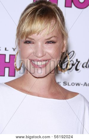 LOS ANGELES - SEP 7: Ashley Scott at the In Touch VMA Post Party held at the Chateau Marmont, Hollywood, California, California. September 7, 2008.