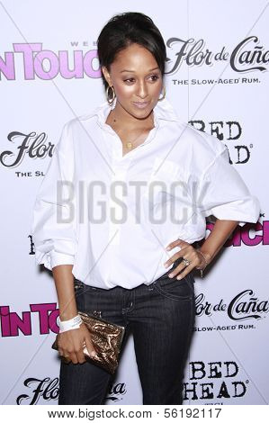 LOS ANGELES - SEP 7: Tia Mowry at the In Touch VMA Post Party held at the Chateau Marmont, Hollywood, California, California. September 7, 2008.