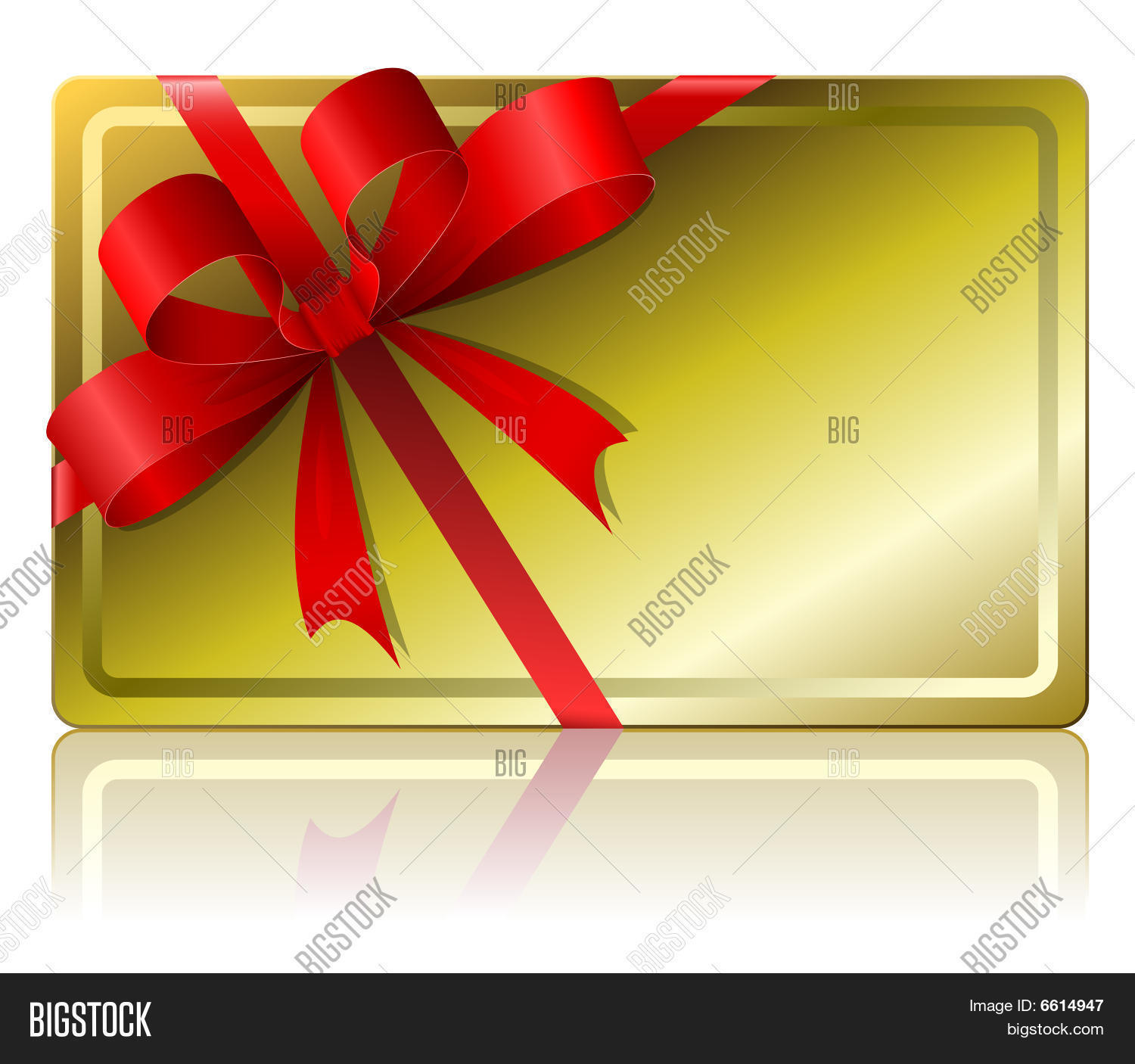 blank gift card vector  photo free trial  bigstock