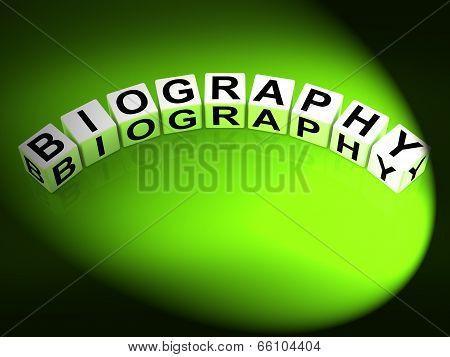 Biography Dice Represent Writing A Memoir Or Life Story