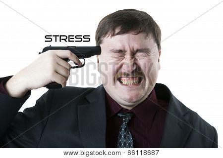 Man Aiming His Head