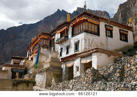 Lingshed (lingshet, Lingshot) Gompa - Buddhist Monastery In Zanskar Valley - Ladakh - Jammu And Kash
