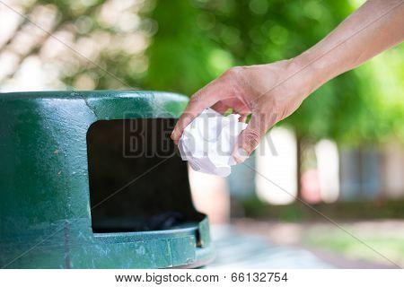 Throwing Away Trash