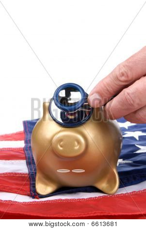 Dead Piggy Bank