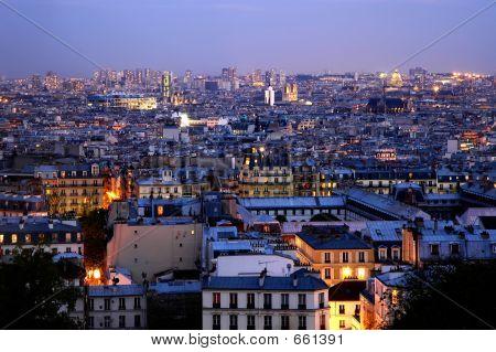 Dusk Over Paris - Panoramics