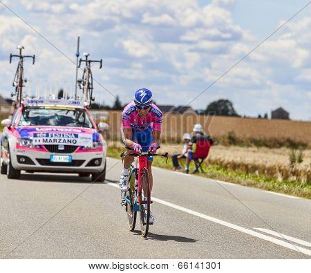 The Cyclist Marco Marzano
