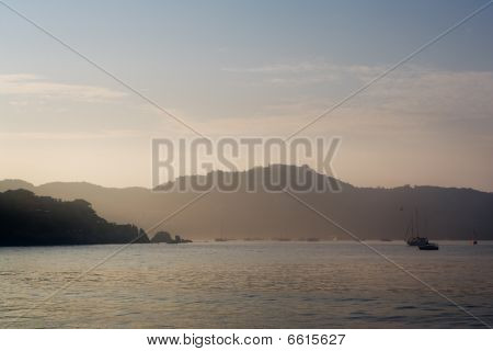 Sunrise over Pelican Bay