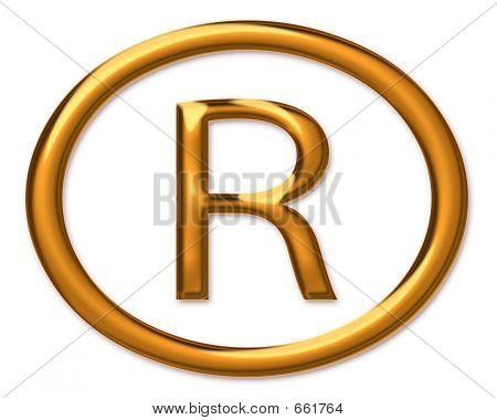 Registered Trade Mark Symbol