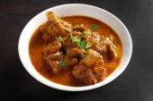 A typical spicy Indian mutton curry liked by all poster