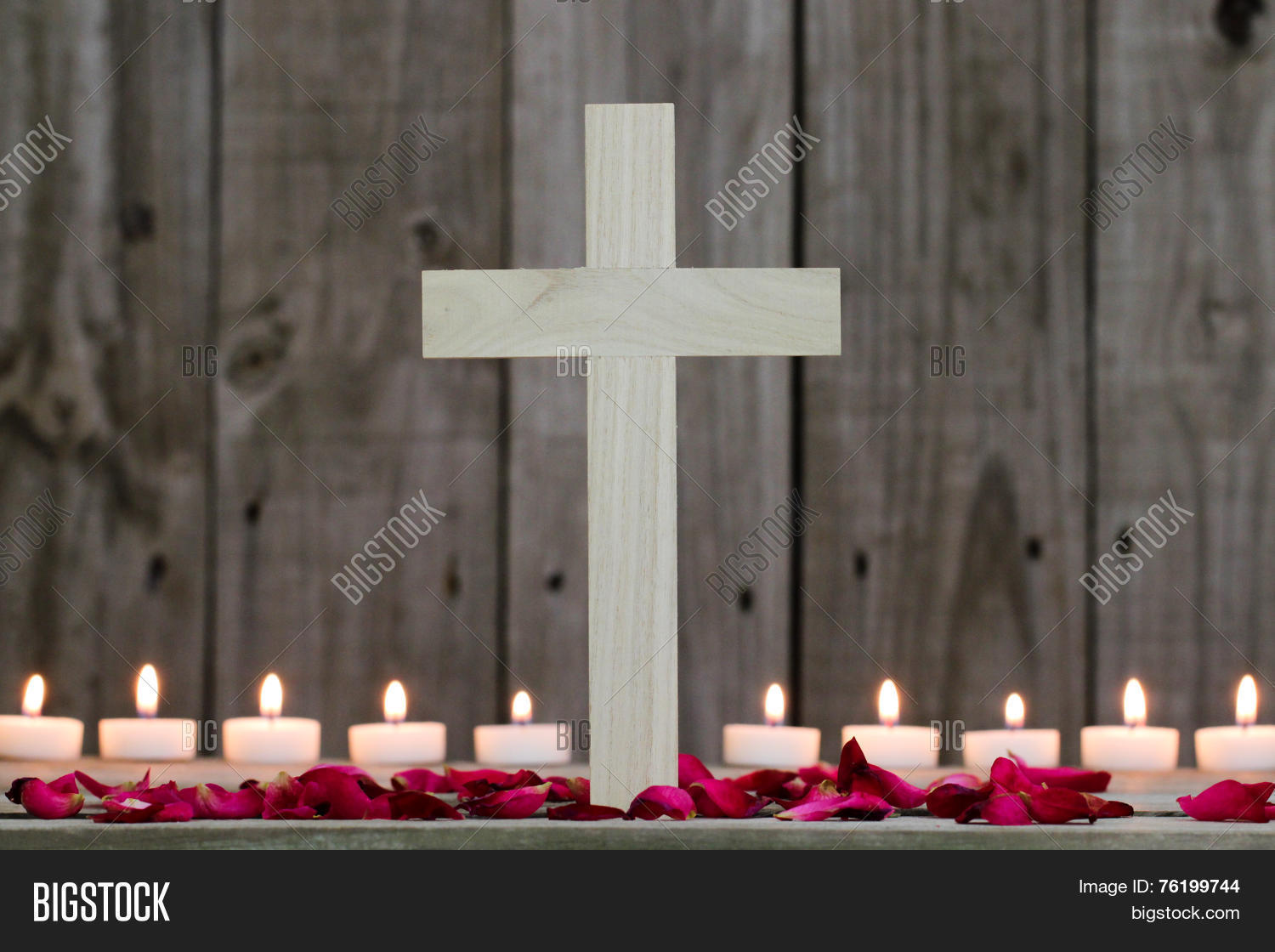 Wood Cross By Image & Photo (Free Trial) | Bigstock
