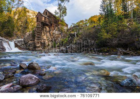 Autumn In Crystal Mill Colorado Landscape