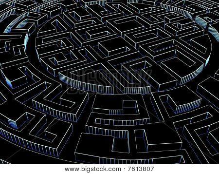 Round Labyrinth