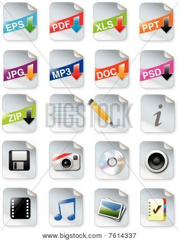 Ontwerpers toolkit - web 2.0 icon set