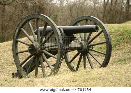 Confederate Civil War Cannon