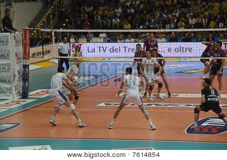 Italian Male Volley Championship 2009/2010 - Itas  Diatec Trentino Volley Vs Macerata