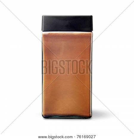Coffee Jar And Instant Coffee Bottle.
